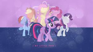 My Little Pony Wallpaper. by daydreaam