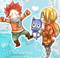 Let it Snow (Colouring). by daydreaam
