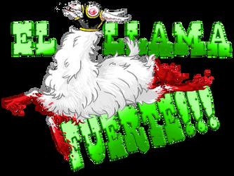 EL LLAMA FUERTE by KGBigelow