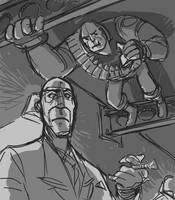 Fun Time with Heavy 3 by KGBigelow