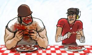 Speed Commish - tastey meats by KGBigelow