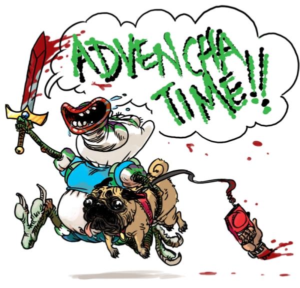Blarp's epic adventure by KGBigelow