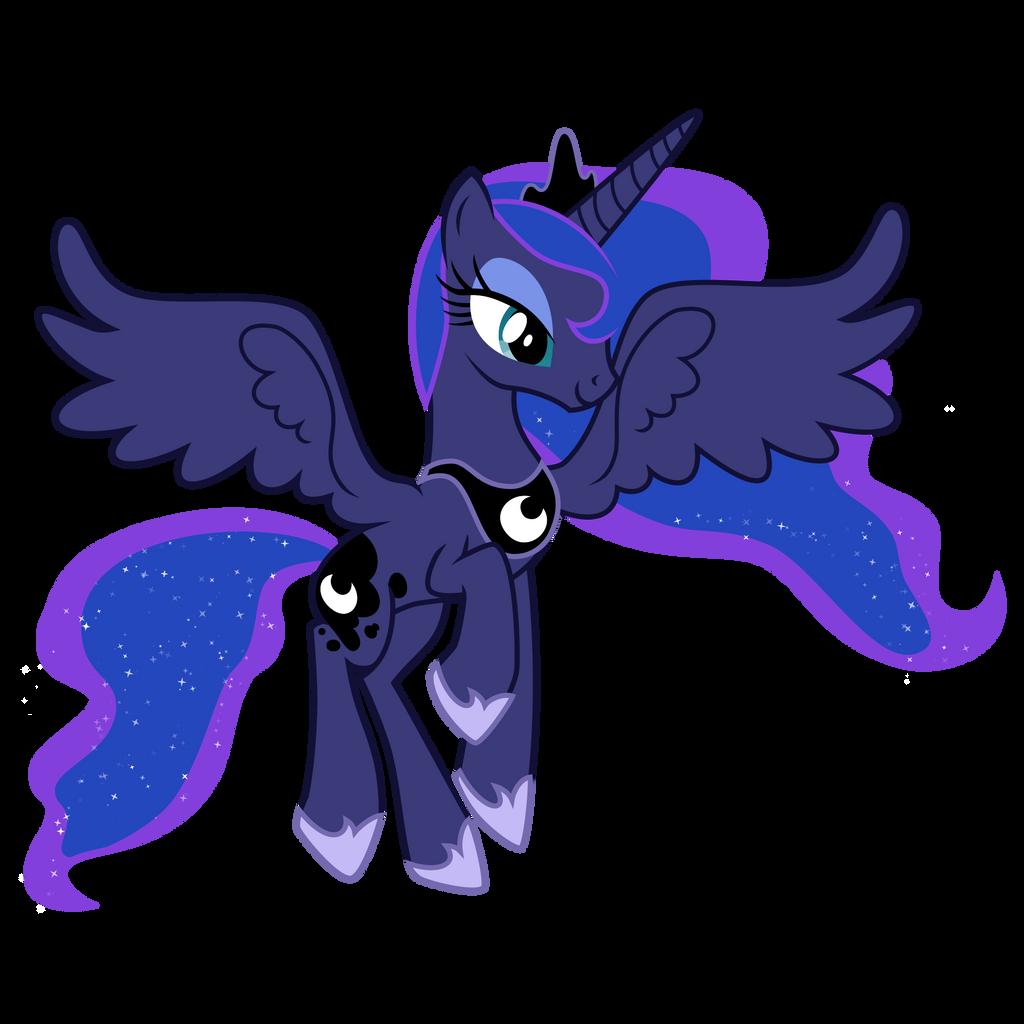 Mlp Princess Luna Flyi...