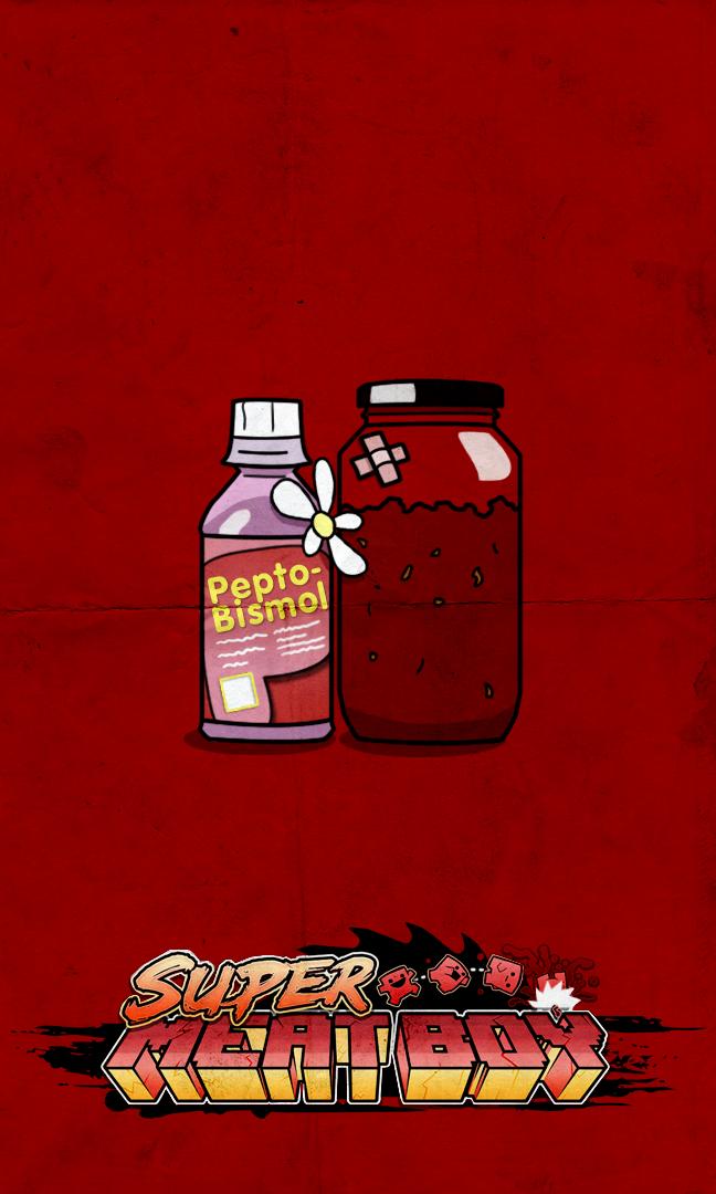 Fan Art Super Meat Boy Imágenes En Taringa