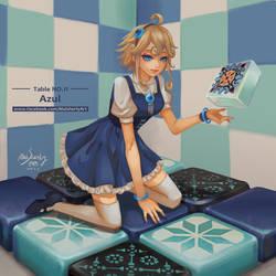 Table NO.11 - Azul
