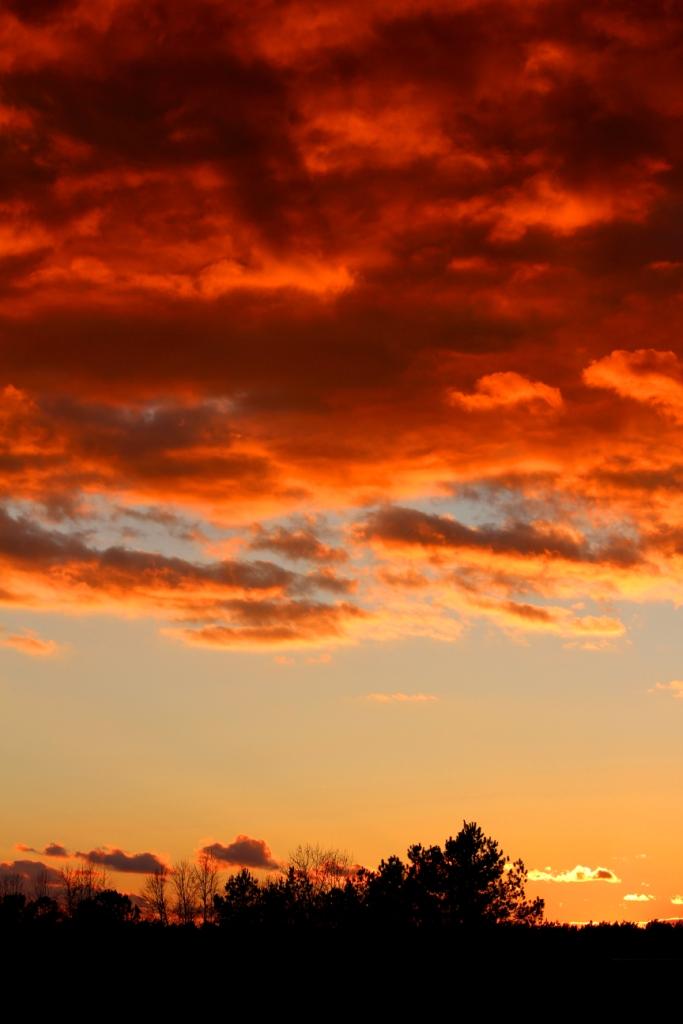 Burning Sky by swordedsaint