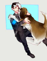 connor and sumo by mariam246810
