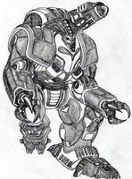Spitting Cobra Power Armor by Vladimir3d
