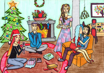 Christmas Eve by MagPiek