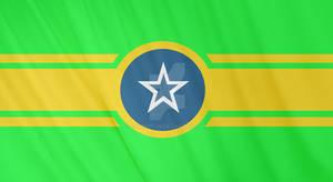 Flag of Salvacao (Portuguese North America)