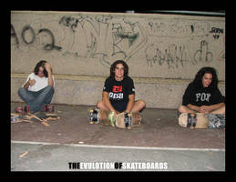 The evulotion of skateboards