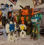 Who says Wreckers don't grow old? by ThePrincessRobotRoom