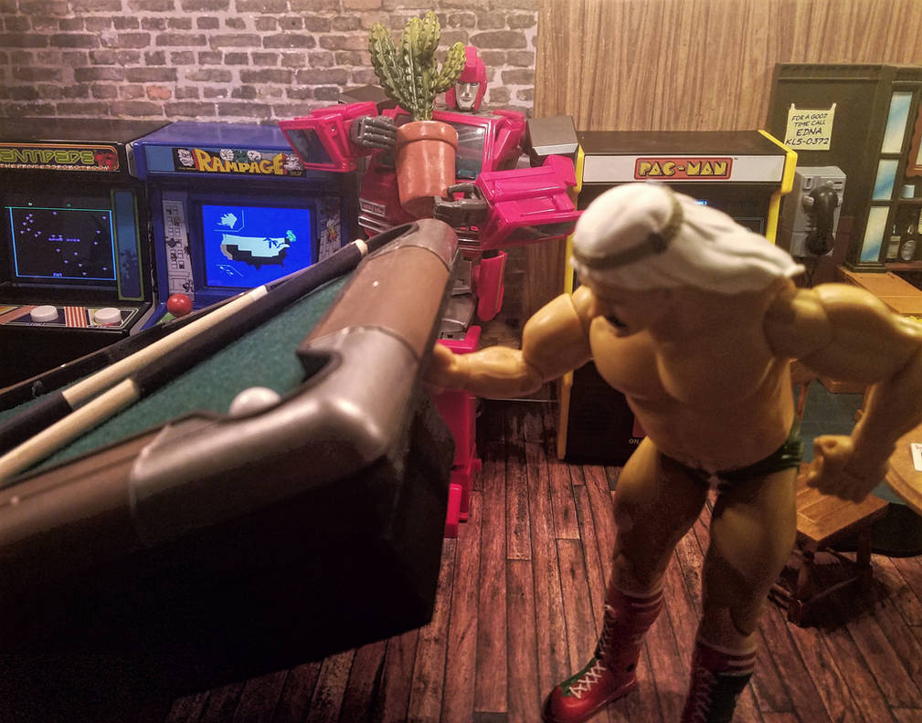 A classic game of Ironhide and Iron Sheik