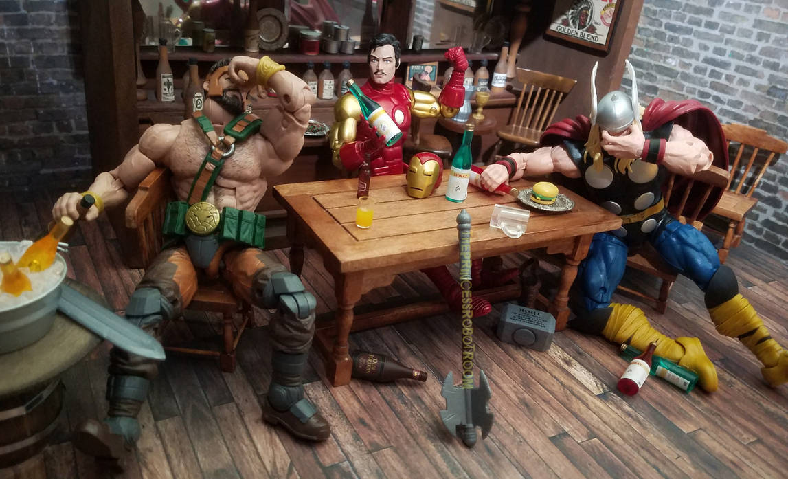 They picked the wrong mere mortal to drink with