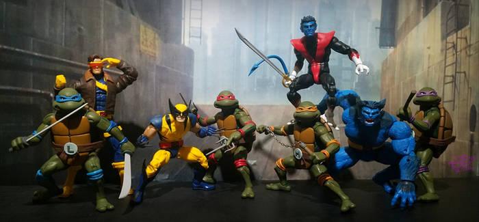 Mutants stick together