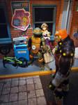 Back off, Ganondork! by ThePrincessRobotRoom