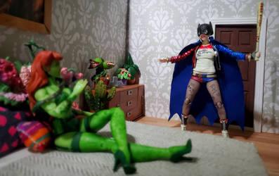 You're going down, evildoer! by ThePrincessRobotRoom