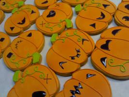 Pumpkin Cookies by eckabeck
