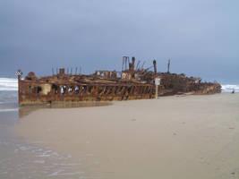 Maheno wreck 03 by CAStock