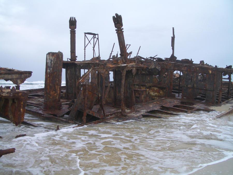 Maheno wreck 10 by CAStock