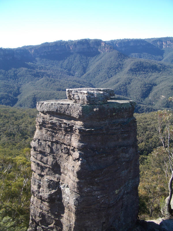 Blue Mountains rock formation