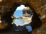 Cave window wide