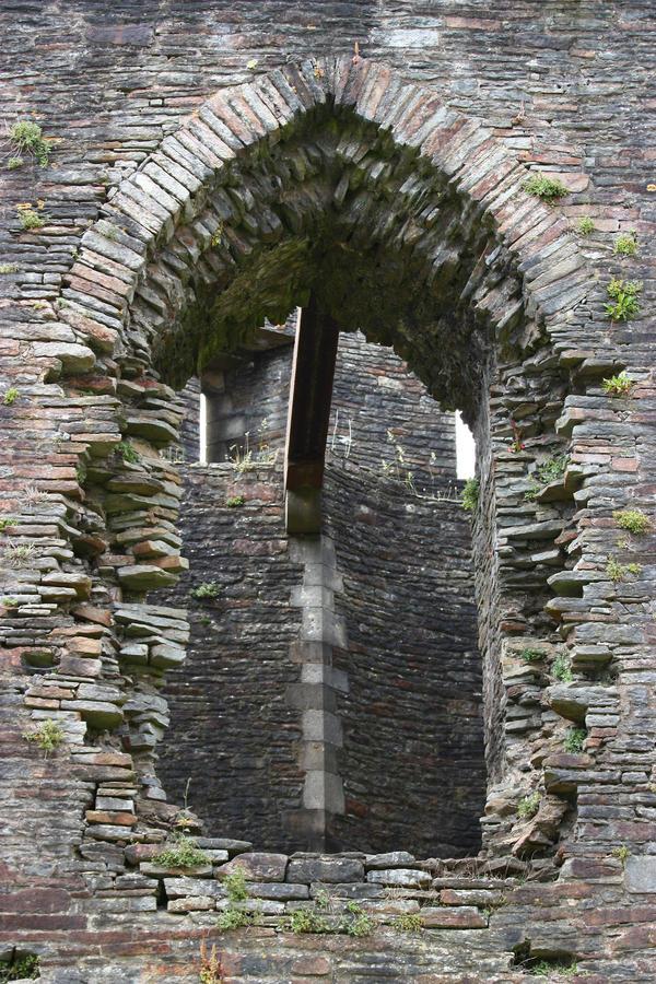 Castle window 1 by CAStock