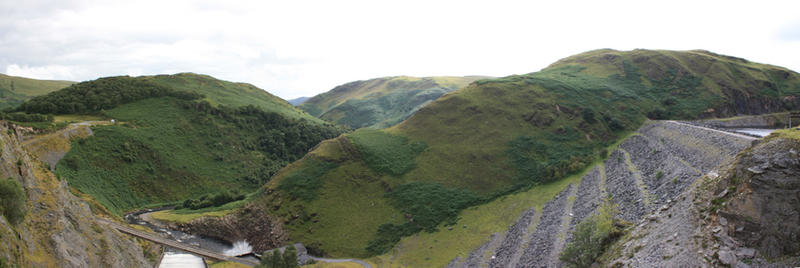 Brecon mountains panorama by CAStock