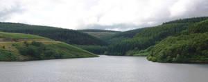 Brecon dam panorama