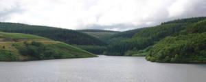 Brecon dam panorama by CAStock