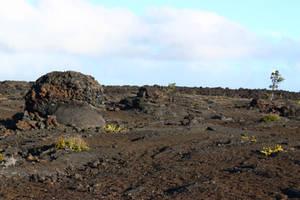 Crackling lava by CAStock