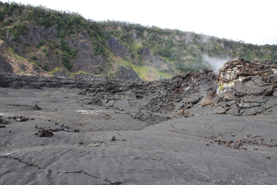 Crater floor 5 by CAStock