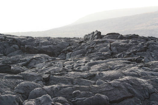 Solidified lava by CAStock