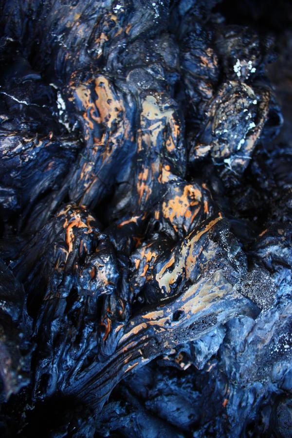 Texture - blue lava by CAStock
