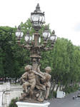 French lamp post