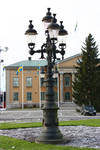 Swedish lamp post
