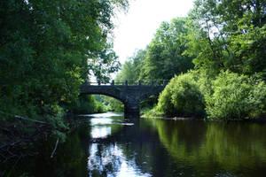 Bridge reflection by CAStock