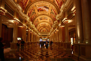Grand hallway by CAStock