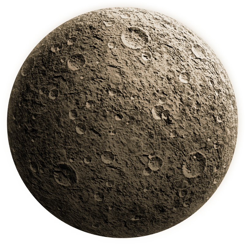 Rough moon by CAStock