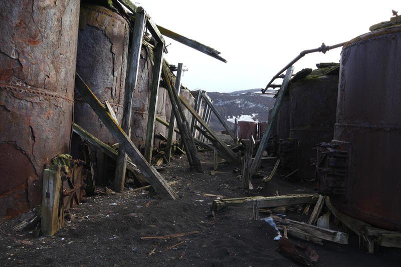 Abandoned boilers