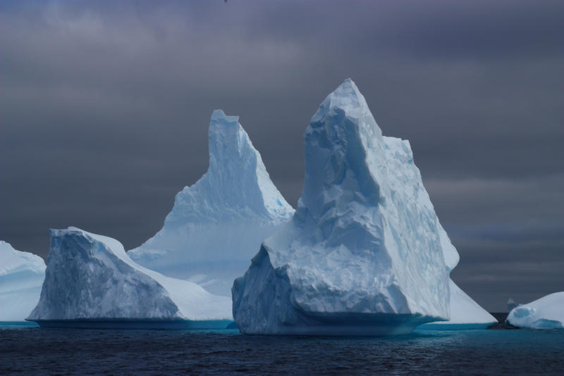 Mighty icebergs by CAStock