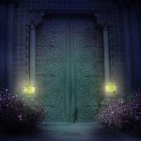 Palace Entrance by CAStock