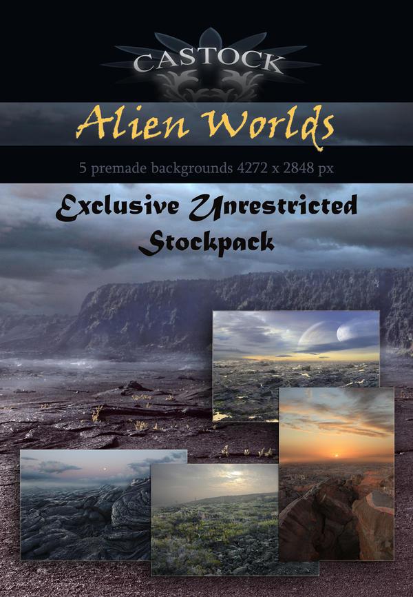 Alien Worlds by CAStock