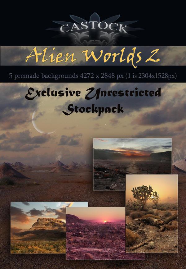 Alien Worlds 2 by CAStock
