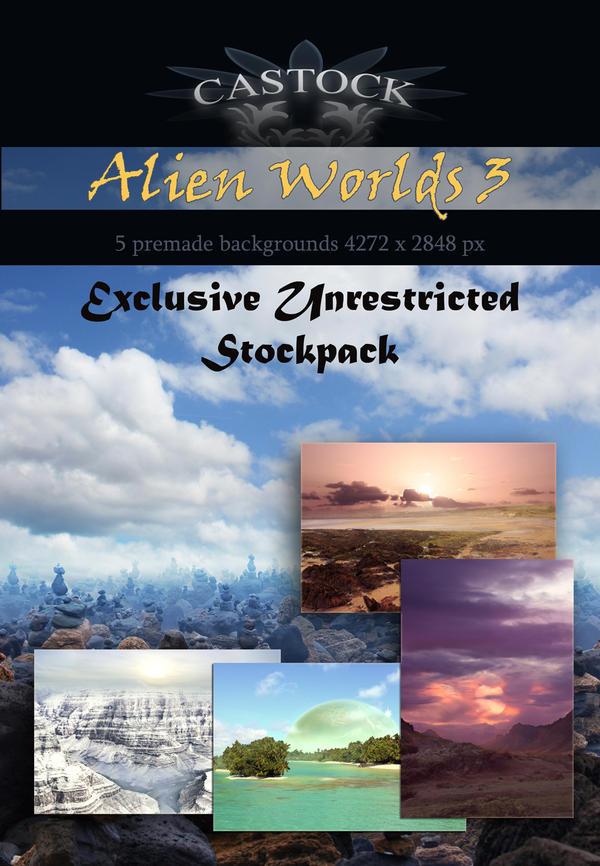 Alien Worlds 3 by CAStock