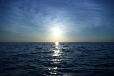 Crystal sunset by CAStock