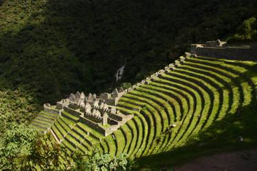 Winay Wayna - Inca trail by CAStock