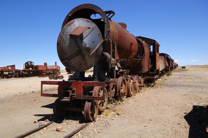 Train graveyard by CAStock