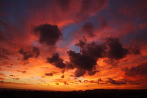 Fire in the sky 1 by CAStock
