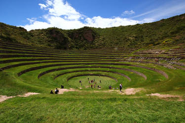 Inca terrace - Moray 2